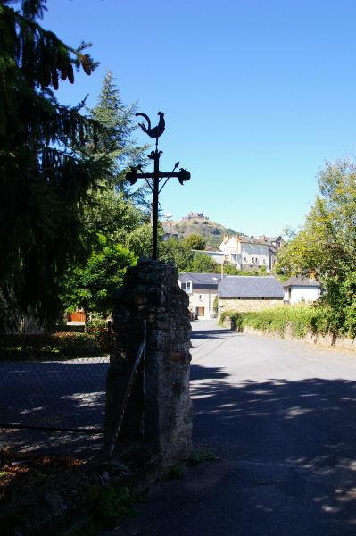 A l'entrée d'Espalion