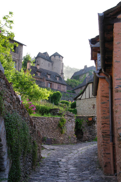 Le chateau de Conques