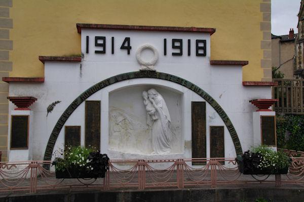 Le monument aux Morts de Cransac