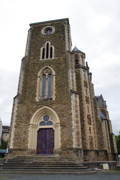 L_église de Cransac