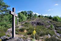 Le chemin de croix d'Aubin