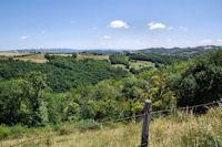 Le vallon du Riou Viou depuis Nespoulieres