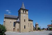 L'eglise de Valzergues