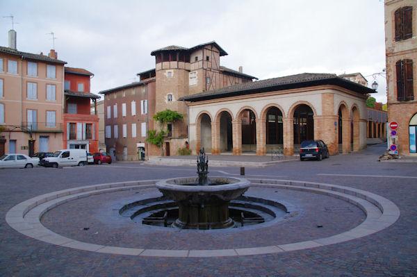 Place Thiers à Gaillac