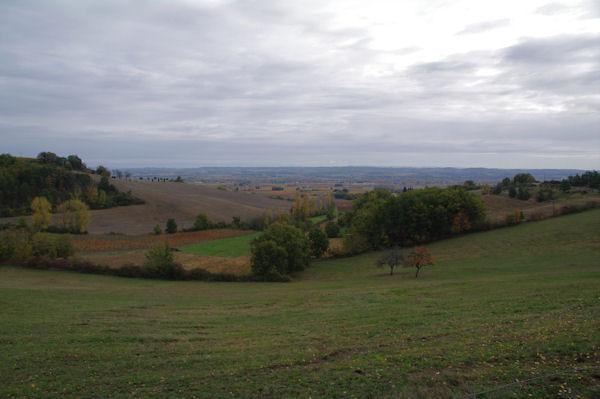 La vallée du Tarn depuis Belle Viste