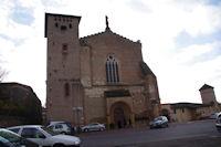 L'eglise de l'abbaye St Michel a Gaillac