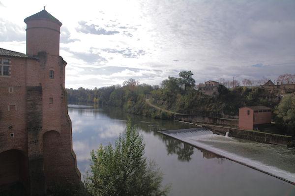 L_abbaye St Michel à Gaillac au bord du Tarn à Gaillac