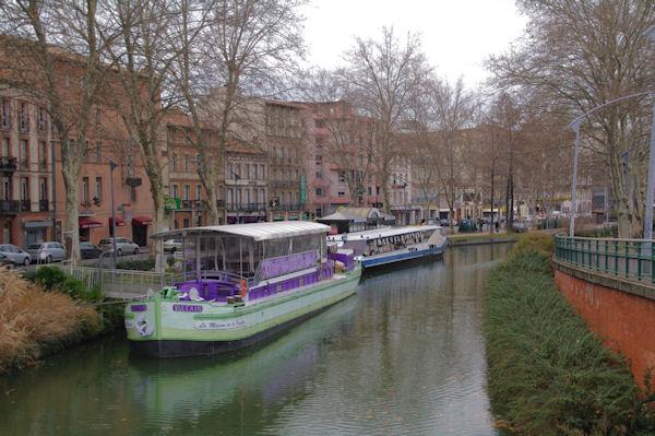 Le Canal du Midi près de la Gare Matabiau à Toulouse