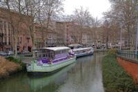 Le Canal du Midi pres de la Gare Matabiau a Toulouse