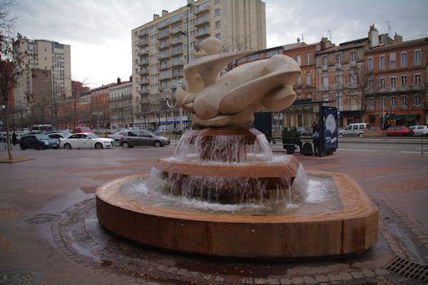 La Fontaine Evasion sur les allées Jean Jaurès à Toulouse