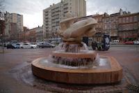 La Fontaine Evasion sur les allees Jean Jaures a Toulouse