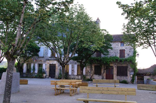 La mairie de Peyrusse le Roc