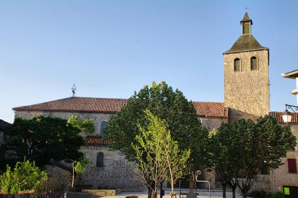 l_église de Peyrusse le Roc
