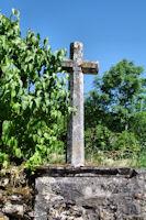 Une croix vers Le Roc