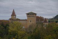 Le chateau de Mezens