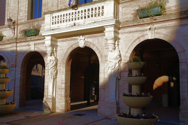 La mairie de Montastruc la Conseillère