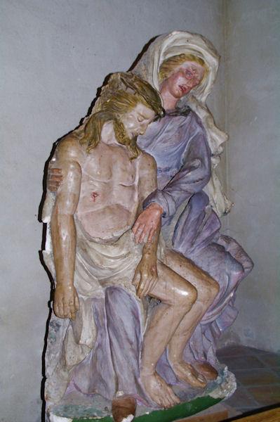 Pieta dans l_église Notre Dame du Bourg à Rabastens