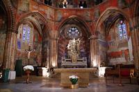 La nef de l'eglise Notre Dame du Bourg a Rabastens