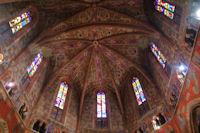 Les plafonds peints de l'eglise Notre Dame du Bourg a Rabastens