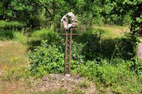 Une croix au Puech Dubert