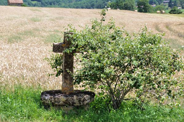 Une croix à Mas de Castanié