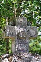 La Croix de l'Homme vers le Puech de Miremont