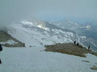 Un peu avant le sommet de l'Aneto