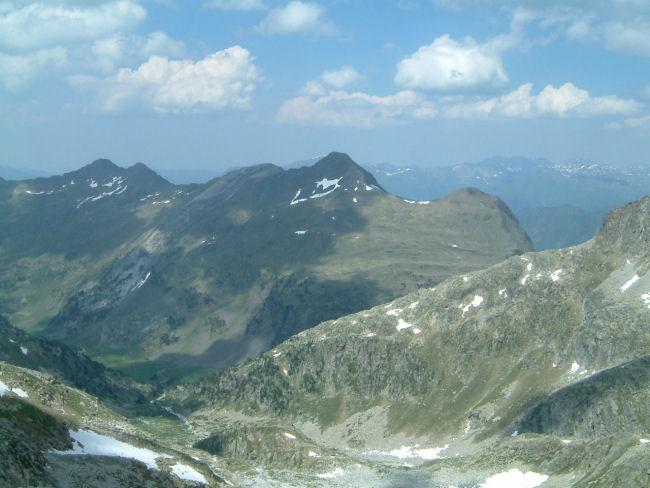 Vue de la vallée de Barrancs