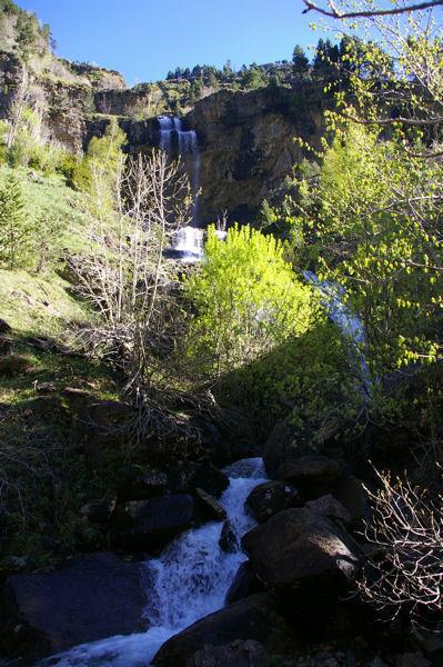 Les cascades du torent de Tobacor