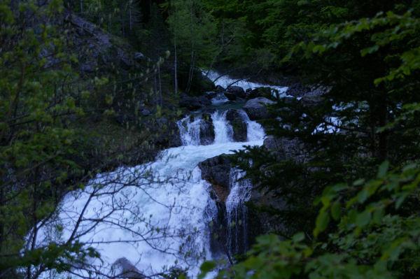 La cascade de Arripas
