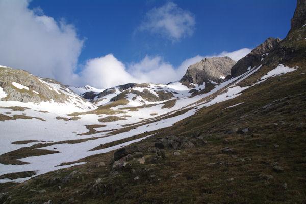Le haut de la vallée de Llardaneta