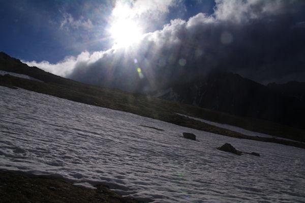 Mauvais temps sur la Sierra de Llardana