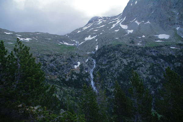 Le vallon du Barranco d_Es Ibons et la cascade d_Es Ibons