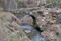 Le Pont du Carrasut, ancien aqueduc