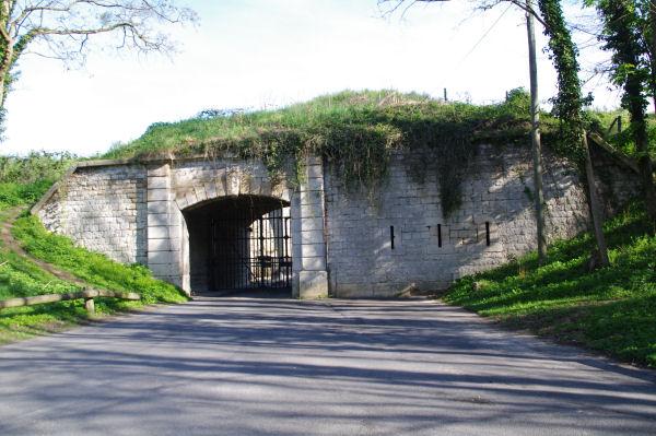 La porte du Fort d_Ecouen