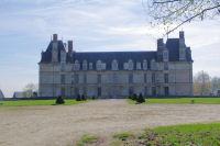 La facade Ouest du Chateau d'Ecouen