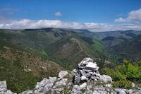 Au sommet du Roc de l'Aigle