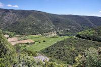 La vallée du Clamoux