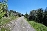 Le chemin vers Matte Arnaude