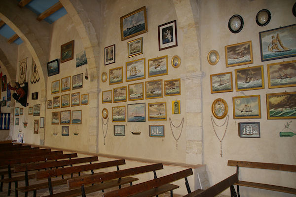 Les murs peints de Notre Dame des Auzils