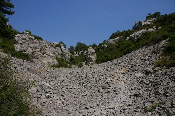 Le passage du Rec d&#39Argent au Plateau de Notre Dame