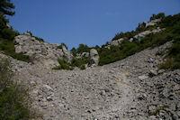 Le passage du Rec d'Argent au Plateau de Notre Dame