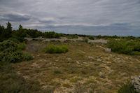 Vestiges de l'acivite pastorale au dessus de Gamare sur l'Ile St Martin