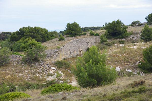 Ruine près de Penelle sur l&#39Ile St Martin
