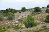Ruine pres de Penelle sur l'Ile St Martin