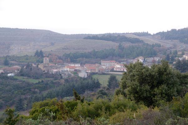 Villanière depuis le Mont Clergue