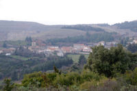 Villaniere depuis le Mont Clergue