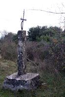 Une croix sur le Mont Clergue