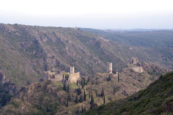 Quertinheux, Surdespine et la Tour Regine depuis le Mont Clergue