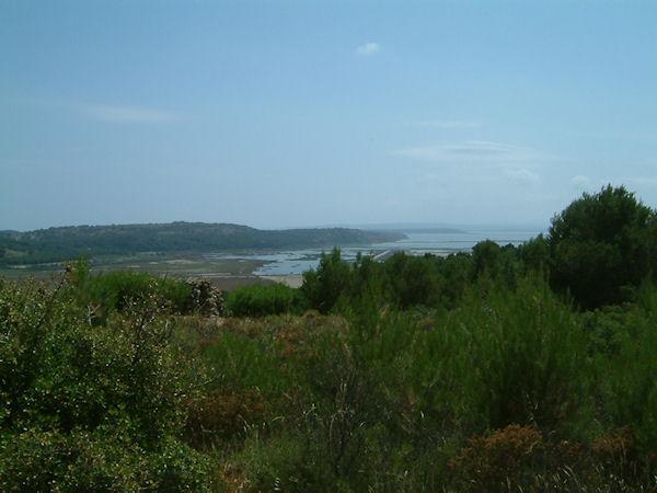 L'Ile St Martin depuis les hauts de Capoulade